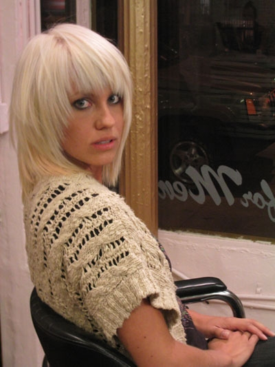 blonde hair layers. Platinum blonde hair with bangs Hair salons west village NYC