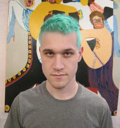 Hair Rainbow Boys On Pinterest  Hair Blue Hair And Green Hair